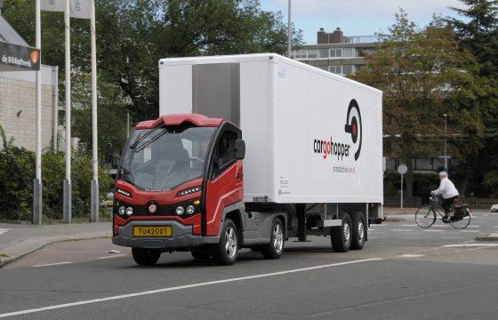 Cargohopper wil ook naar Amsterdam