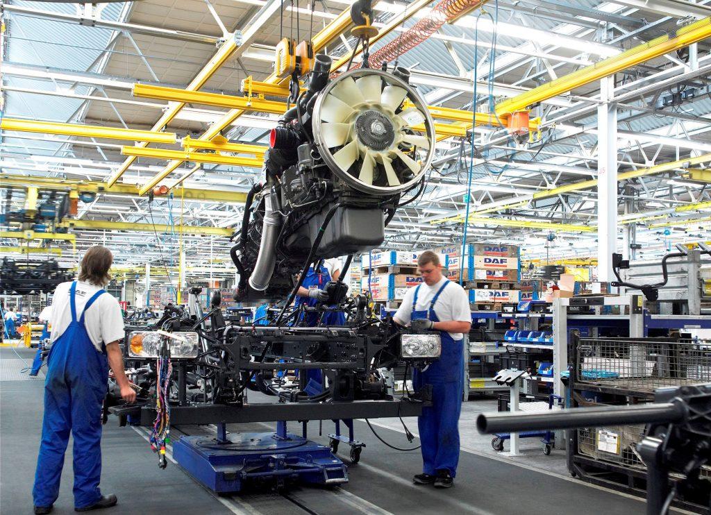 DAF-fabriek in Brazilië