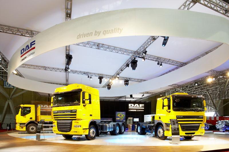 DAF op Braziliaanse truckshow