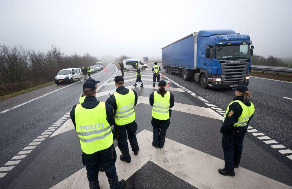 Deense grenscontroles vertraagd