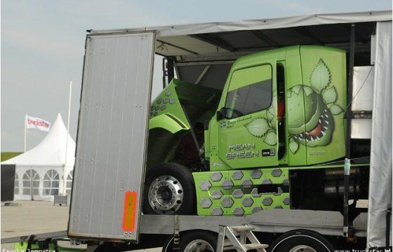 Volvo mean green machine