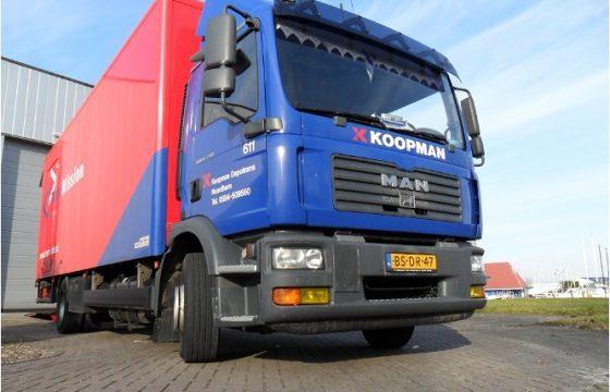 Koopman transport