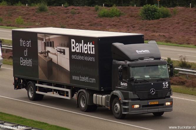 Barletti Exclusieve Keukens : Barletti truckstar