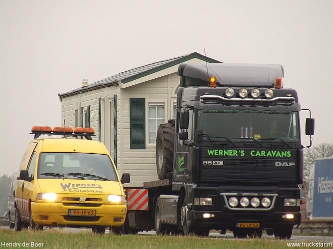 Verwonderend Werner's Caravans - Truckstar CK-54