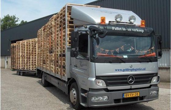 Geldrop Logistics Pallets