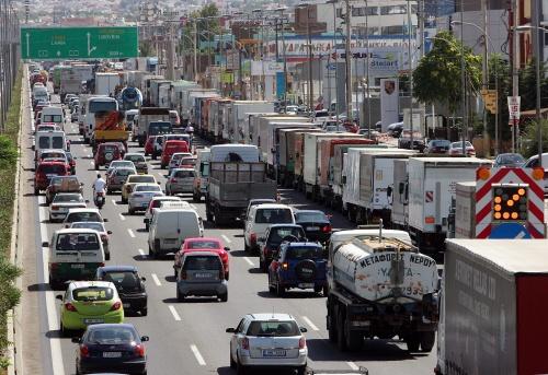 Griekse stakingen hinderen transport