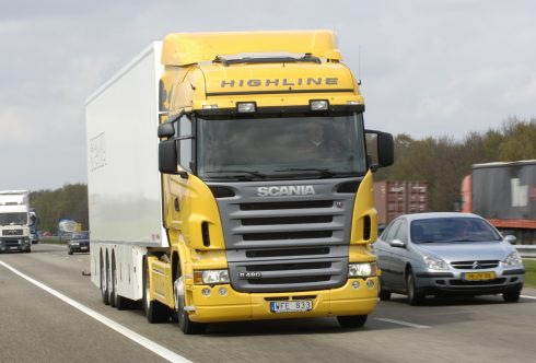 Praktijktest Scania R480 Euro4