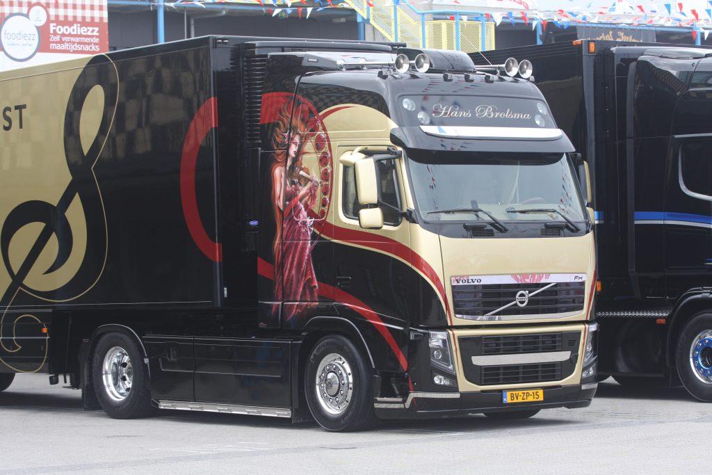 Uitslag extra prijzen mooiste trucks