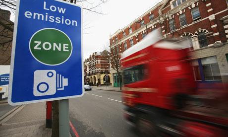 Milieuzone Londen wordt strenger