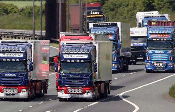 Britse chauffeurs worden niet rijk