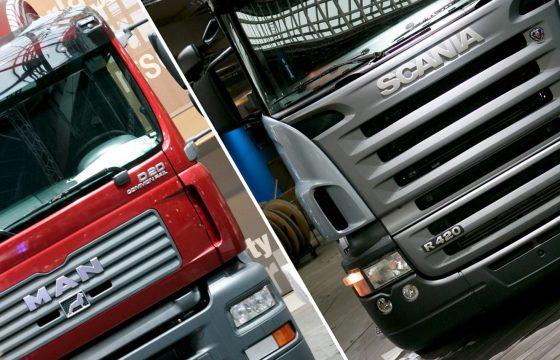 Brussel dwarsboomt VW's plannen MAN en Scania
