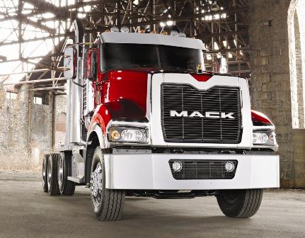 Volvo's 16 liter motor voor Mack Australië