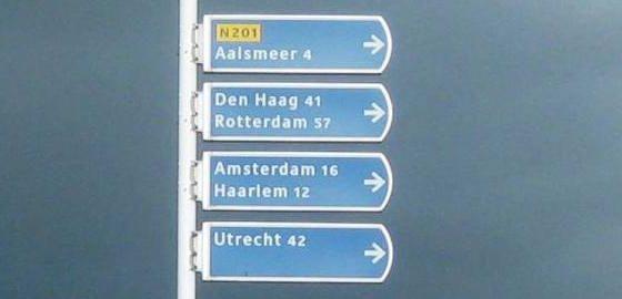 Vrije truckbaan Aalsmeer-Schiphol
