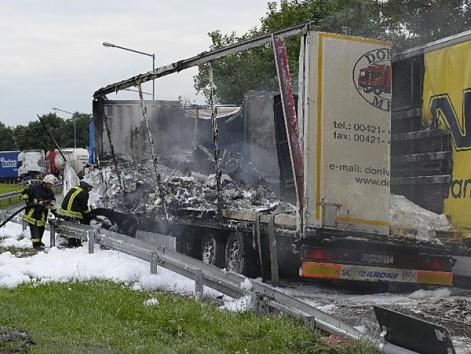 Zwaar ongeval op Duitse parking