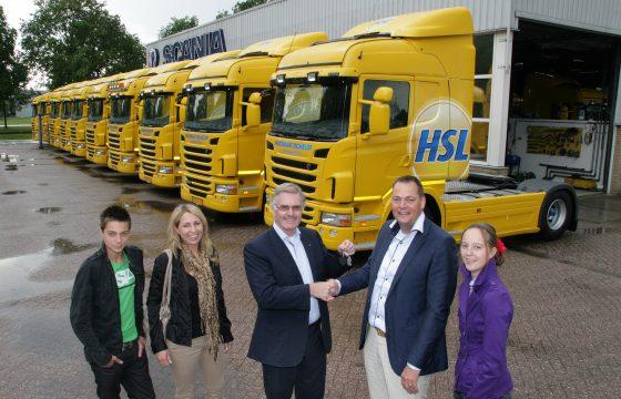 36 Scania's voor Huisman Van de Scheur