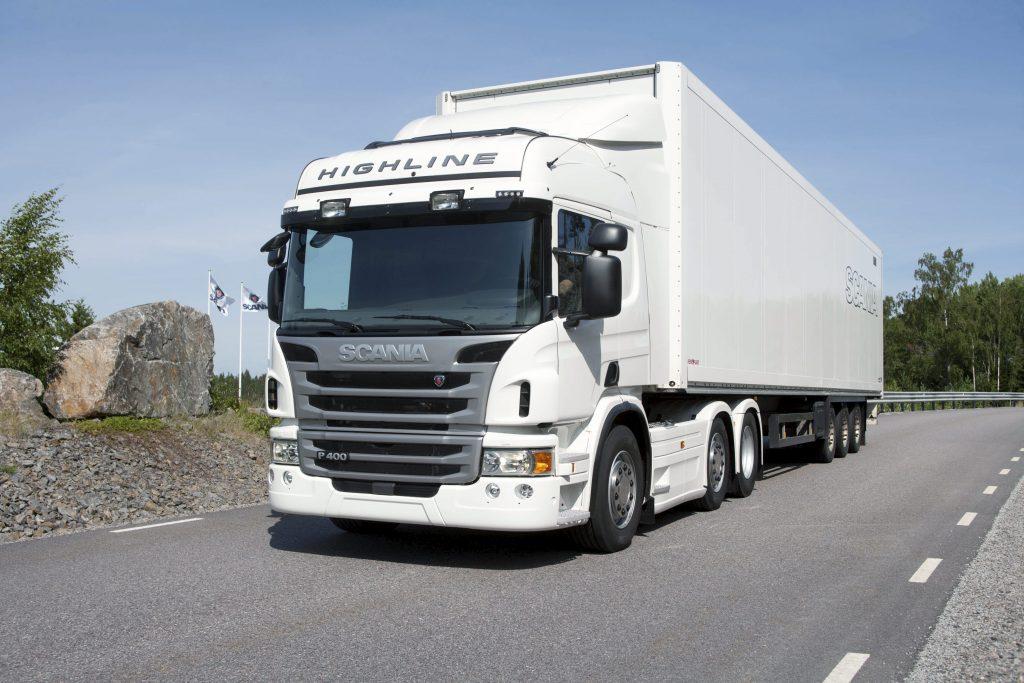 Scania: facelift P-serie
