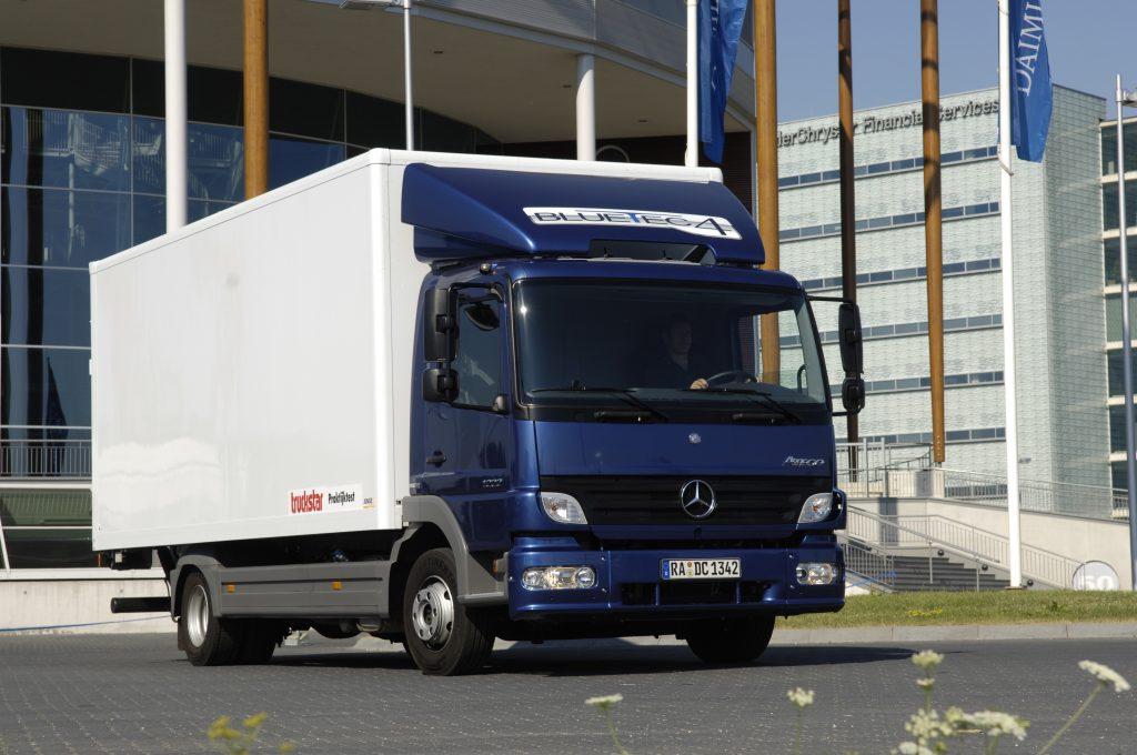 Praktijktest Mercedes-Benz Atego 1222