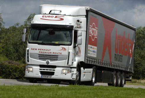 Praktijktest Renault Premium Route 450 Euro5