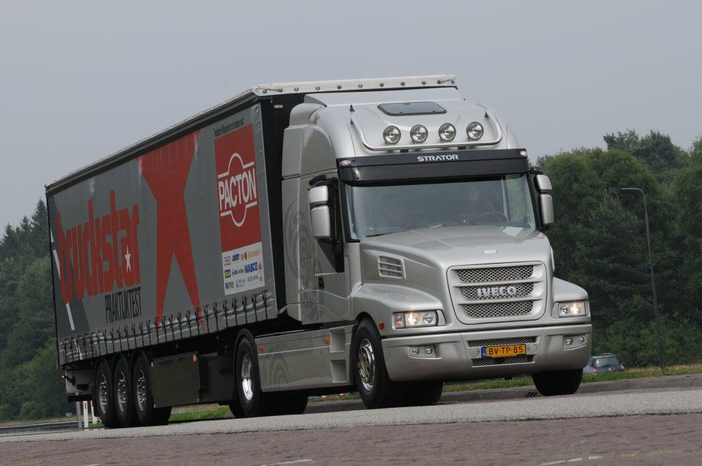 Praktijktest Iveco Strator 450 Euro5 EEV
