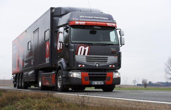 Race-sfeer bij Renault