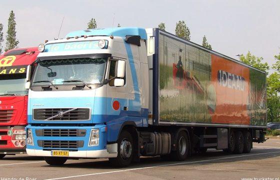 Te Baerts: 'Trucks rijden weer'