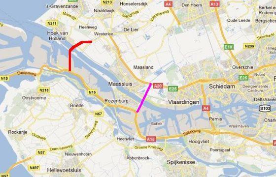 Keuze tunnel haven Rotterdam nog open