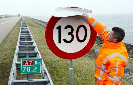 130 nieuwe snelheid snelwegen