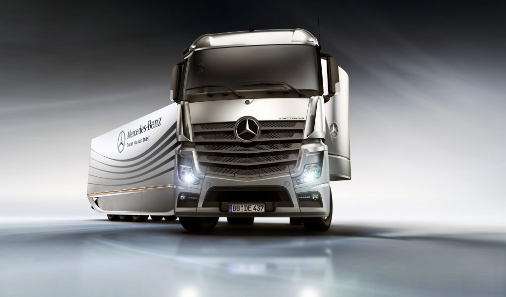 MB Actros Truck of the Year 2012