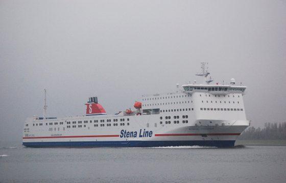 Stena Transit in de vaart