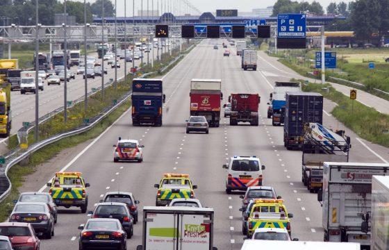Chauffeurs voeren maandag actie op de snelweg