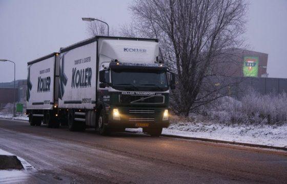 Winteroproep aan transportbedrijven