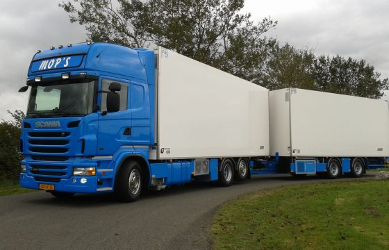 Jansen Urk bestelt Scania's
