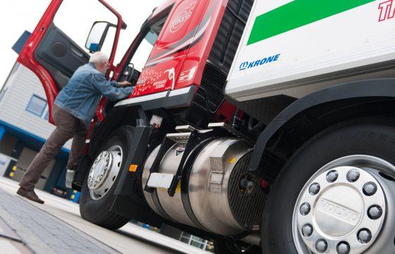 Eerste openbare LNG-pomp in Zwolle
