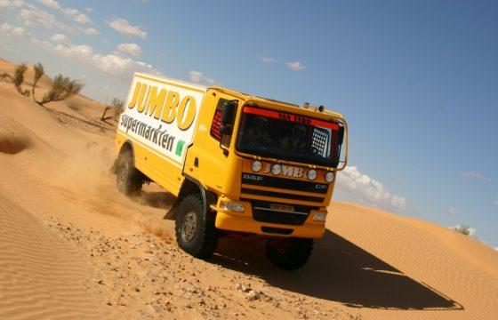 Jos Verstappen niet naar Dakar