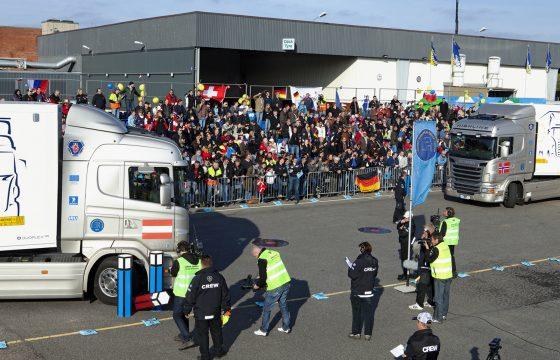 Scania's YETD van start