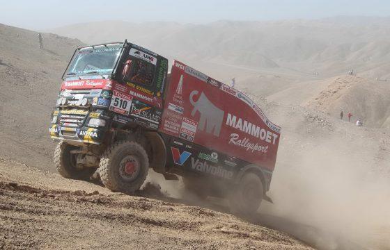 Heftige negende Dakar-etappe