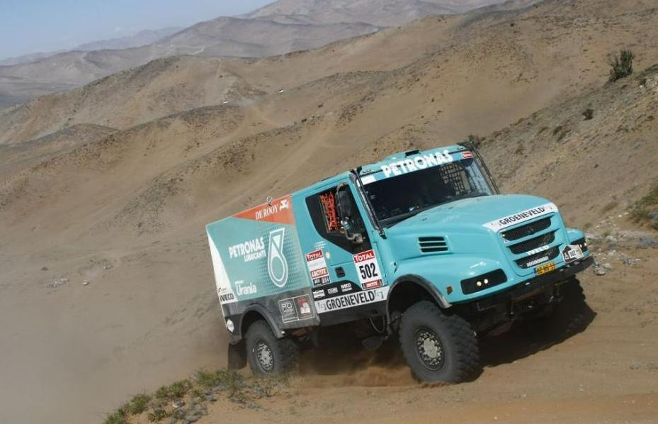 De Rooy leidt Dakar