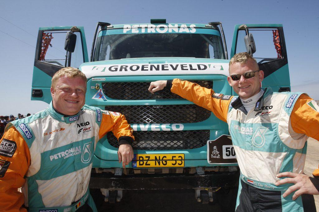 De Rooy wint Dakar