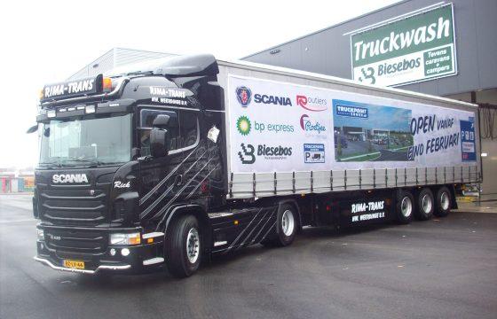 Biesebos truckwash nu ook in Emmen