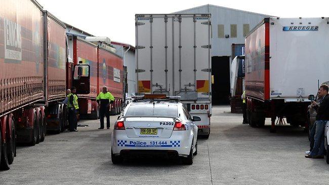 Oorlog aan Australisch wegtransport