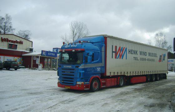 Vrachtwagen-terroristen in Scandinavië