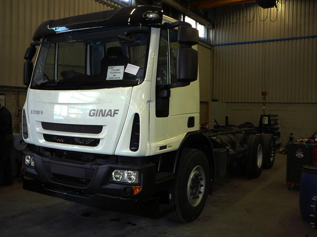 Eerste Ginaf truck op CNG