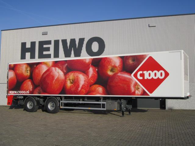 C1000-trailers van Heiwo