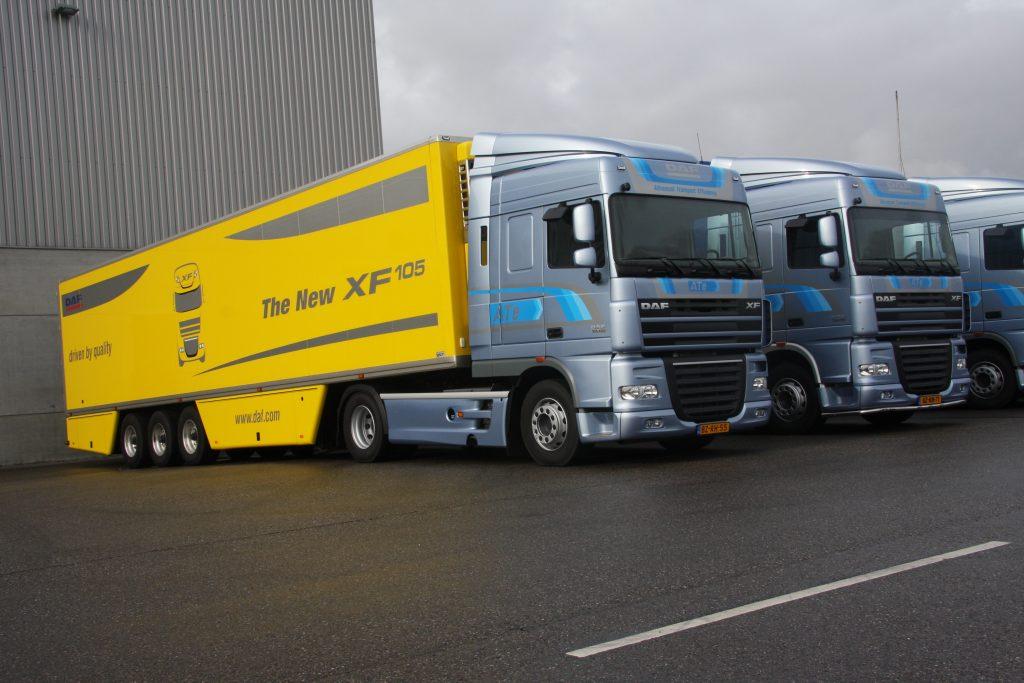 DAF ATe: Truckstar reed 'm zelf