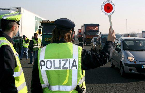 Rijverboden in Italië