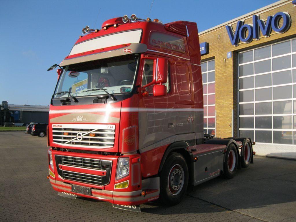 Gestolen Volvo's terug via Dynafleet