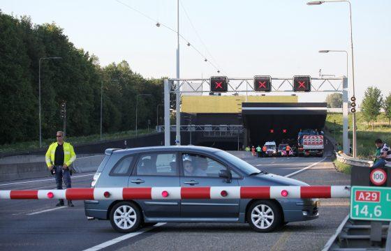 Truck-stremming Heinenoordtunnel (update)
