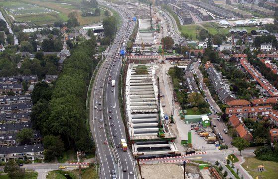 Einde nare bottleneck A4 Leiden