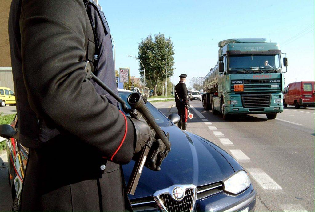 Politie-begeleiding geëist Sicilië