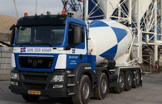 MAN 49 tons betonmixer